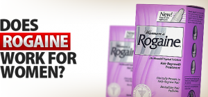 Does Rogaine work for women